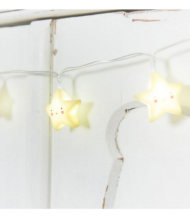 """Гирлянда для детской """"Yellow Stars"""""""