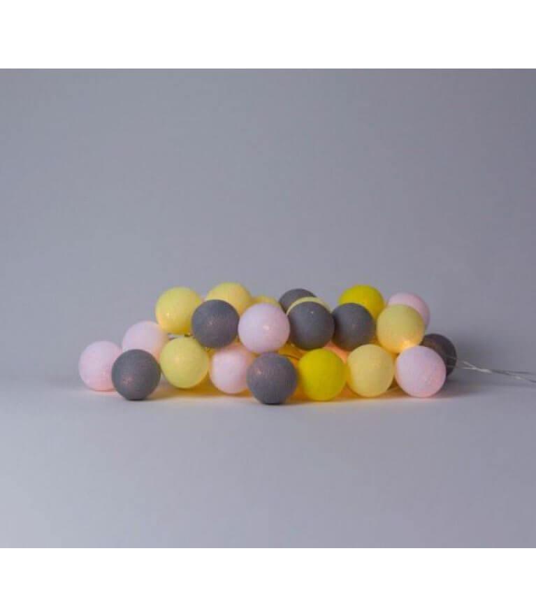 """Шарики-Фонарики """"Yellow Stone"""""""