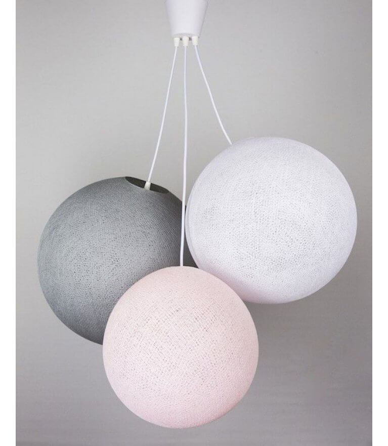 "Люстра ""Grey-Pink"""