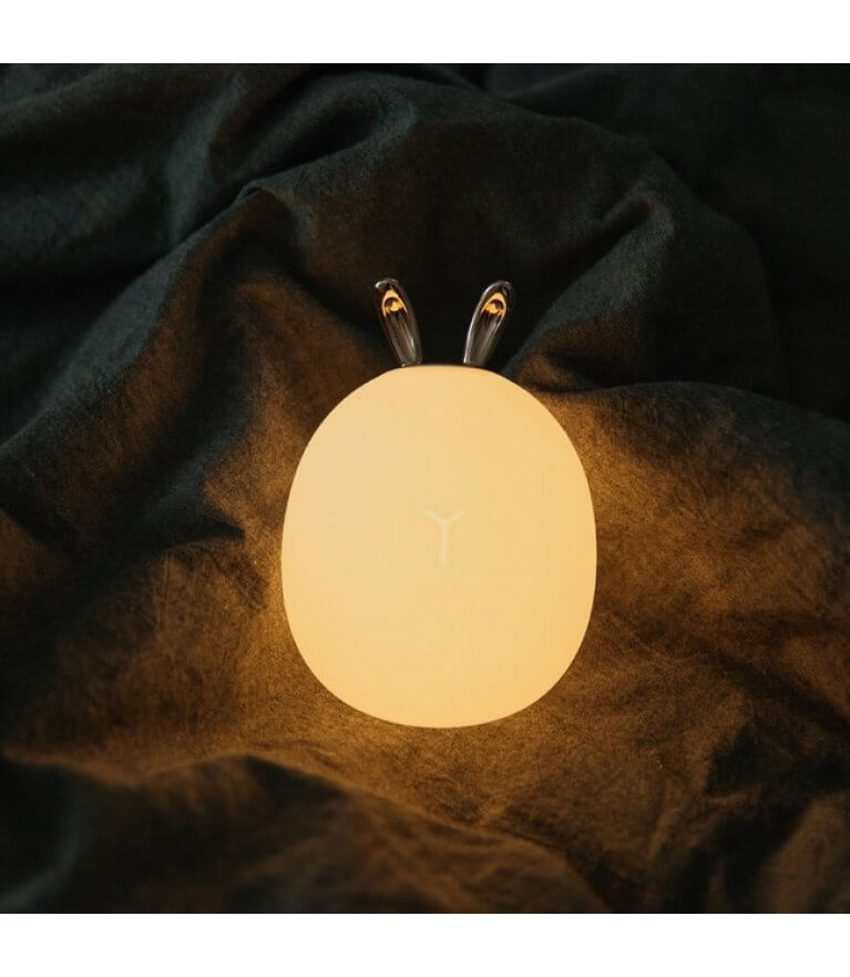 """USB ночник """"Bunny"""" аккумуляторный, желтый/белый свет"""