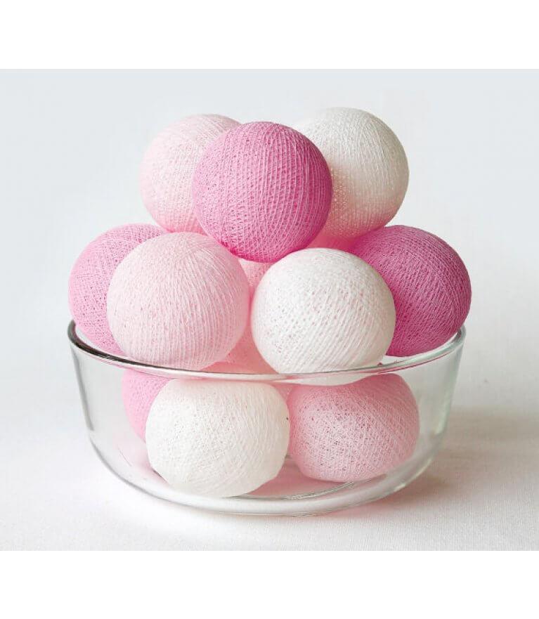 "Гирлянда ""Bright Pink"""