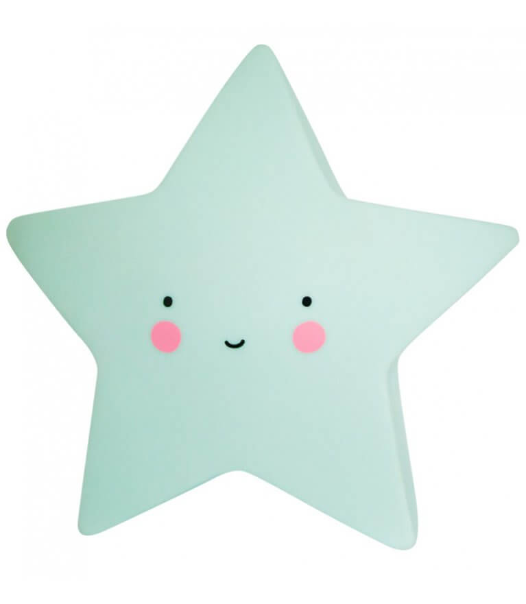 """Милый светильник """"Mint Star"""""""