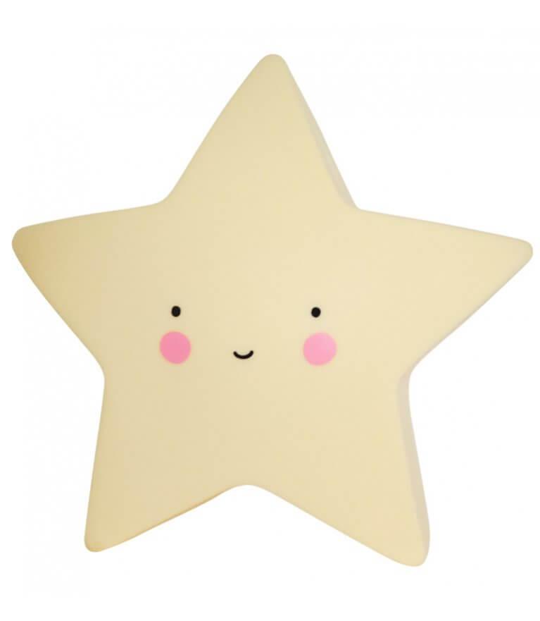 """Милый светильнык """"Yellow Star"""""""