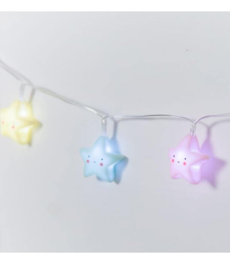 """Гирлянда для детской """"Pastel Stars"""""""