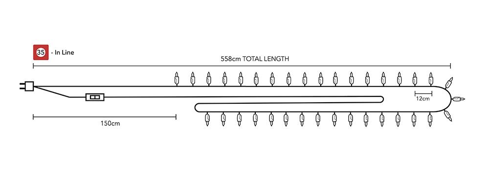 гинлянда на 35 шариков тайские фонарики гирлянды